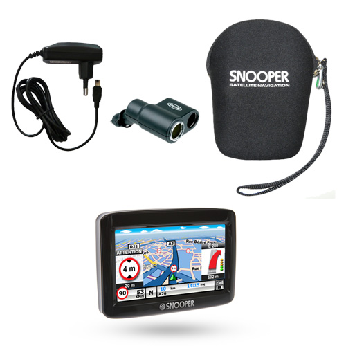 snooper pl1000 poids lourd europe pack premium gps snooper sur. Black Bedroom Furniture Sets. Home Design Ideas