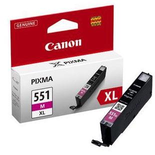 Cartouche imprimante Canon CLI-551M XL Cartouche d'encre magenta