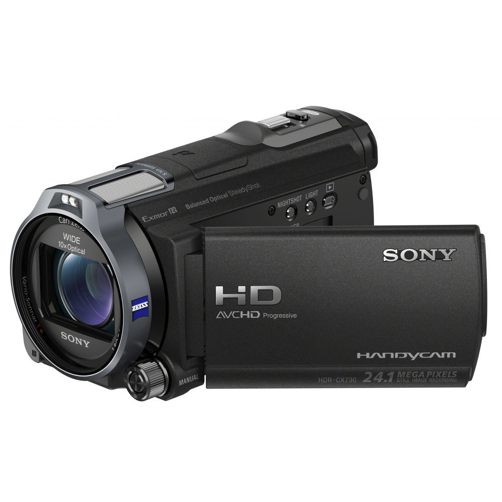 sony hdr cx730e cam scope num rique sony sur. Black Bedroom Furniture Sets. Home Design Ideas