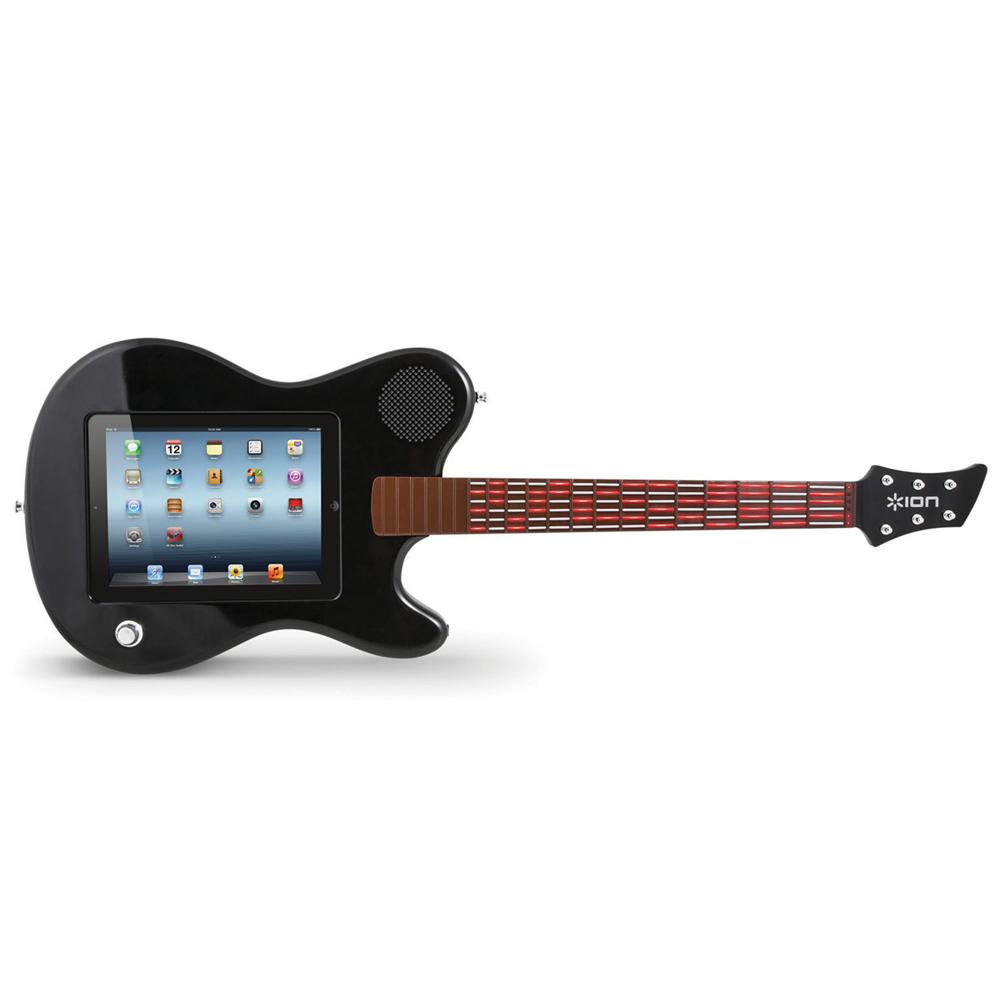 ion all star guitar accessoires apple ion audio sur. Black Bedroom Furniture Sets. Home Design Ideas