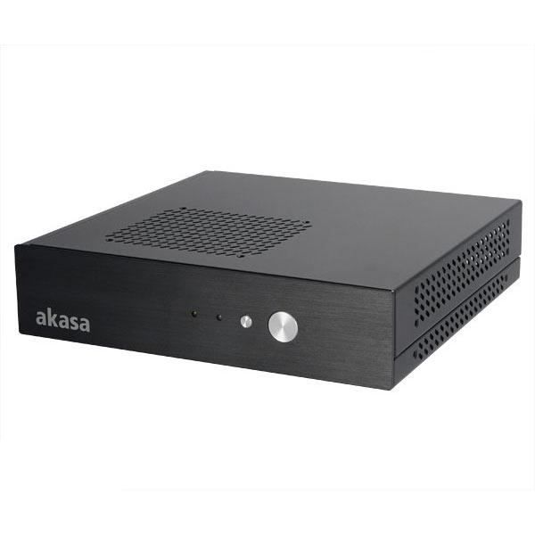 Boîtier PC Akasa Cypher Boîtier desktop Thin Mini ITX