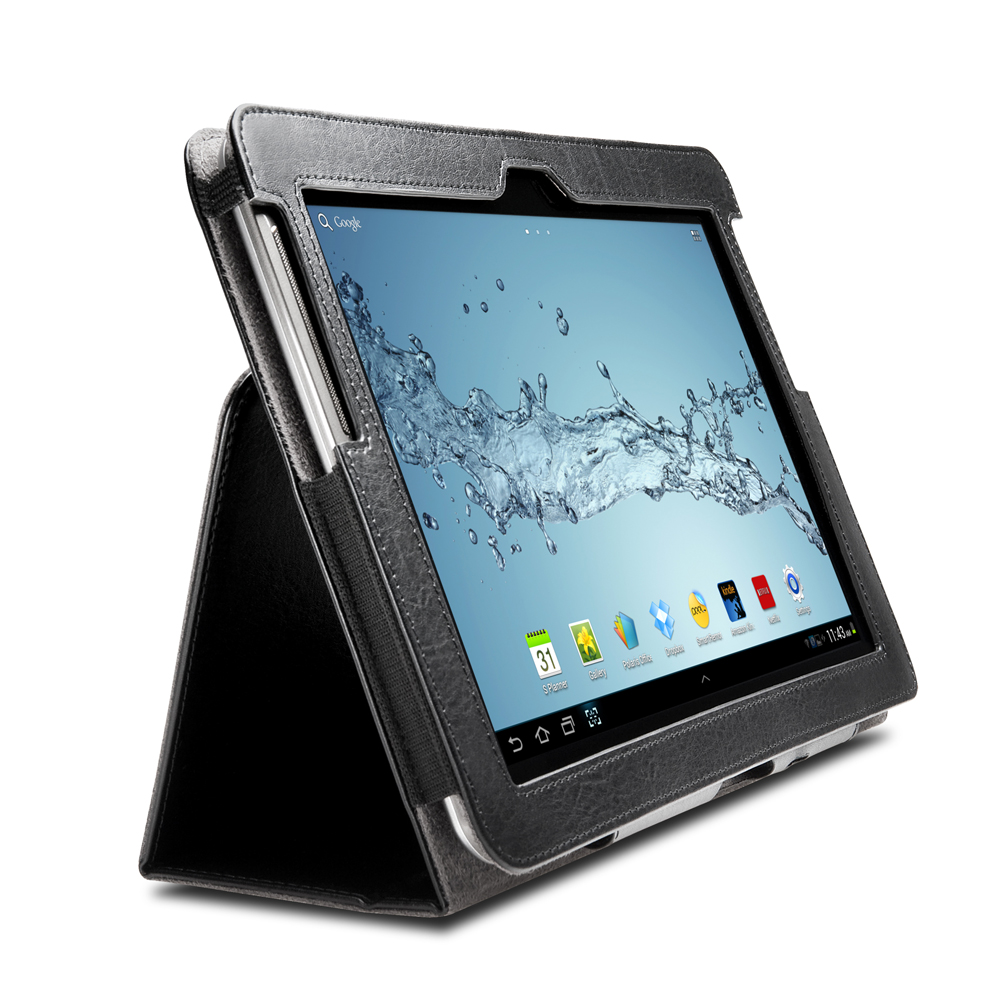 kensington protective folio stand pour galaxy tab etui tablette kensington sur. Black Bedroom Furniture Sets. Home Design Ideas
