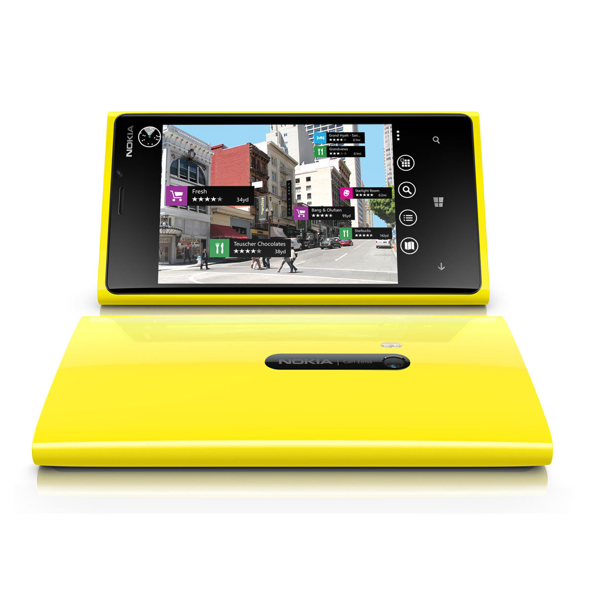 Nokia lumia 920 jaune mobile smartphone nokia sur for Photo ecran lumia 920