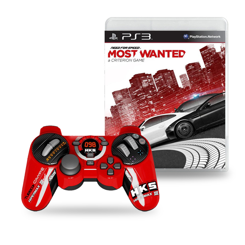 steelplay manette hks racing filaire need for speed most wanted ps3 accessoires ps3. Black Bedroom Furniture Sets. Home Design Ideas