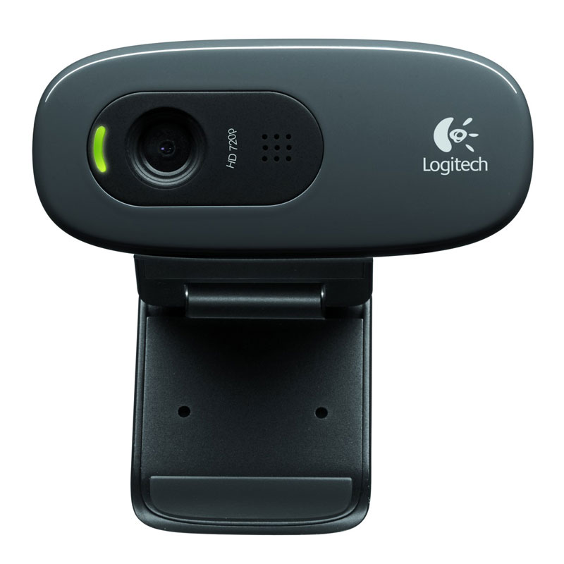 Webcam Logitech HD Webcam C270 Webcam HD 720p compatible Facebook/Skype/MSN
