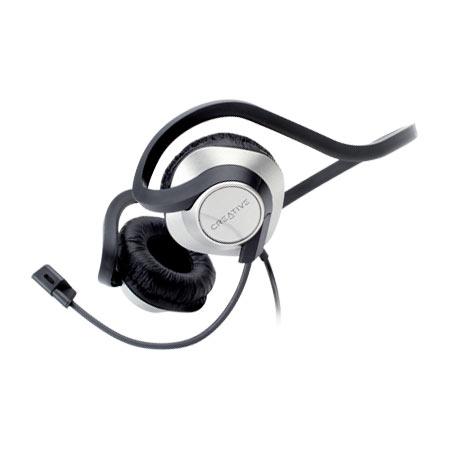 creative chatmax hs 420 micro casque creative technology ltd sur. Black Bedroom Furniture Sets. Home Design Ideas