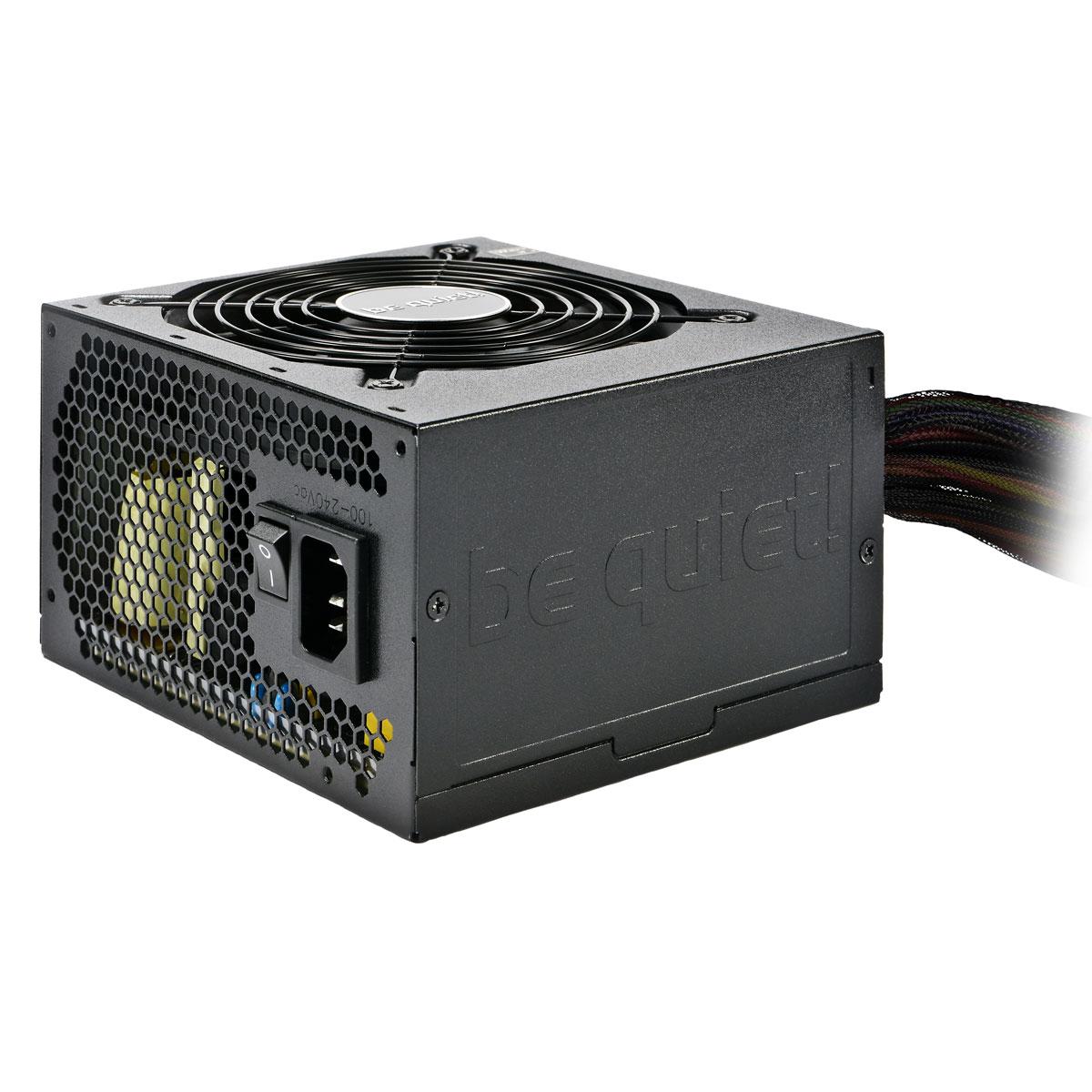 Alimentation PC be quiet! System Power 7 600 W 80PLUS Silver (bulk) Alimentation 600W ATX 12V 2.3 EPS 12V V2.92 (Garantie 3 ans constructeur) - 80PLUS Silver