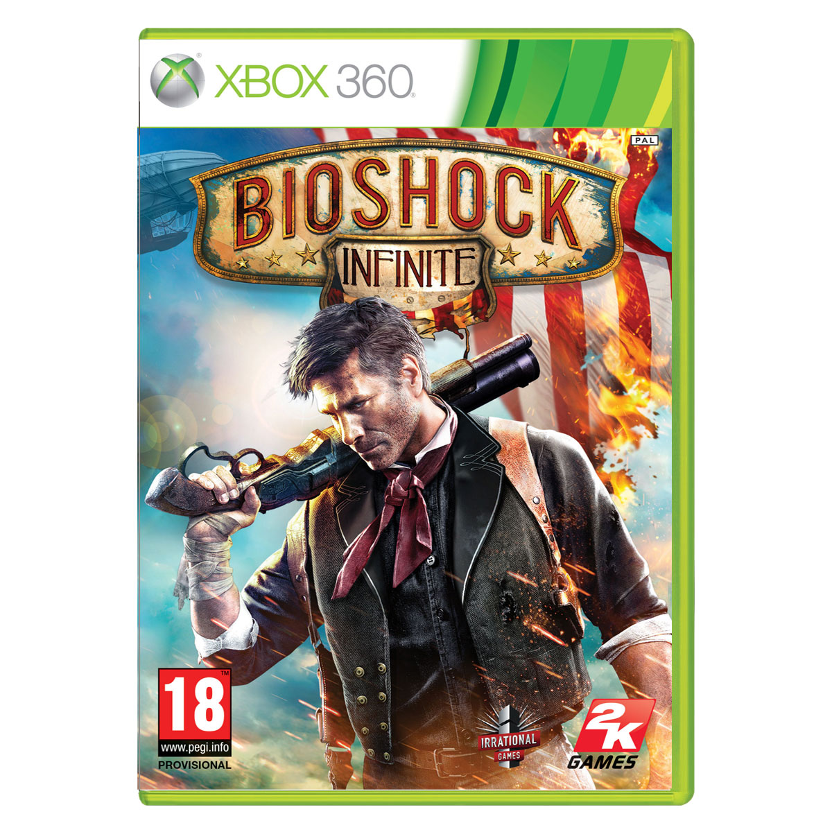 Bioshock infinite edition premium xbox 360 jeux xbox for Porte xboxlive