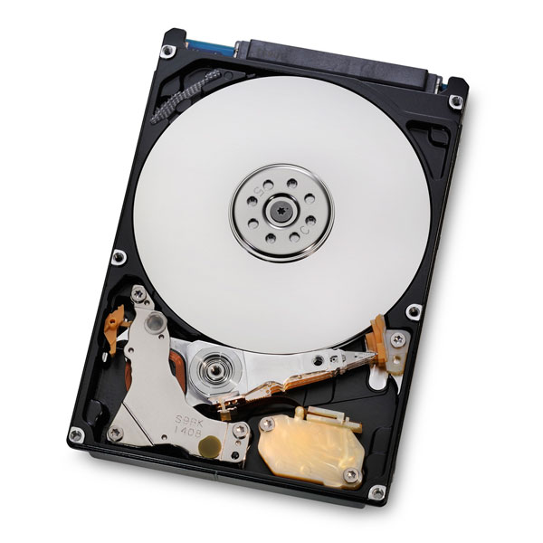 "Disque dur interne Hitachi Travelstar Z5K500 500 Go 7 mm Disque dur 2.5"" 500 Go 7 mm 5400 RPM 8 Mo Serial ATA II 3Gb/s (bulk)"