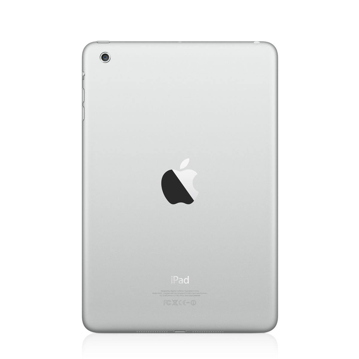 apple ipad mini wi fi 16 go blanc et silver tablette tactile apple sur. Black Bedroom Furniture Sets. Home Design Ideas