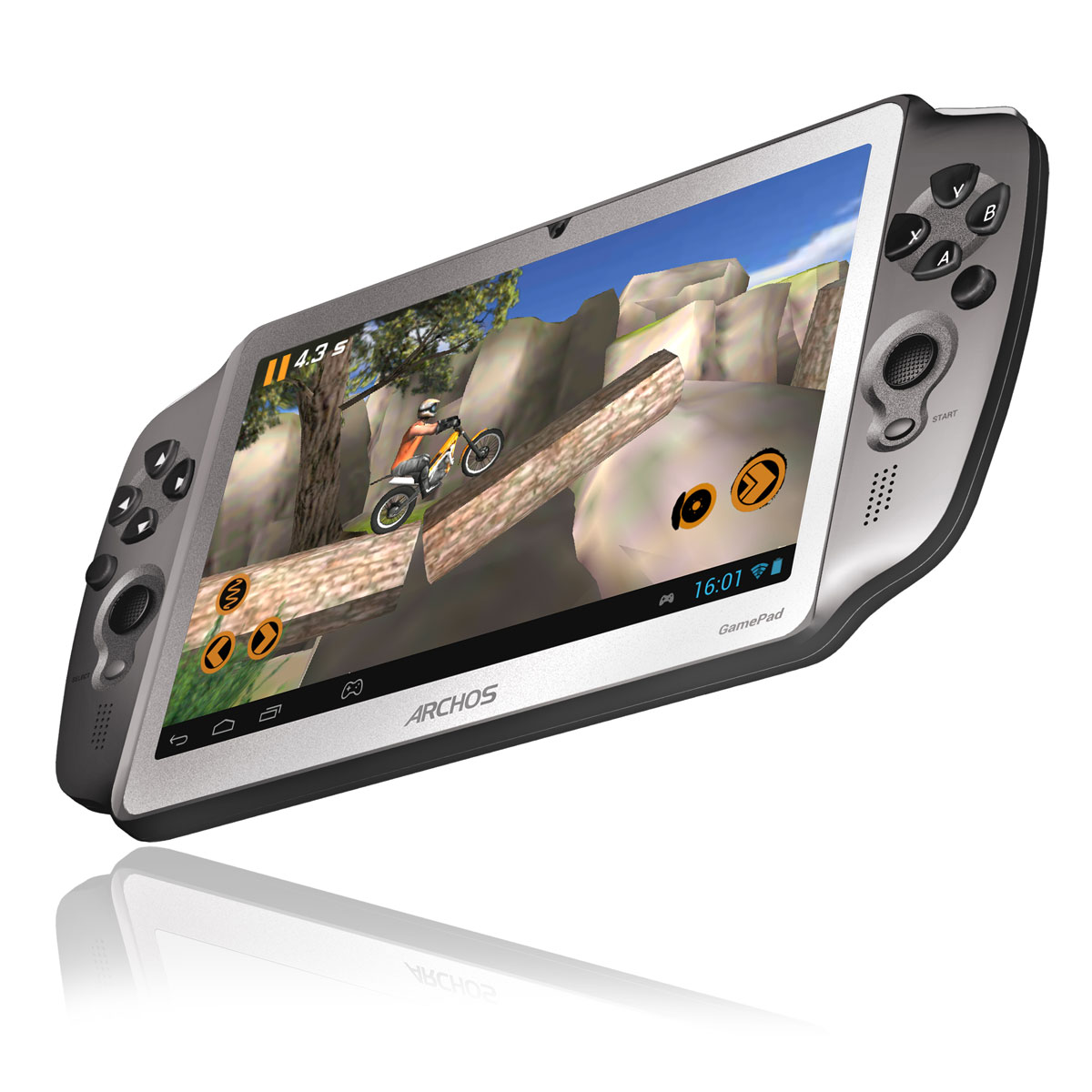 archos gamepad 8 go tablette tactile archos sur. Black Bedroom Furniture Sets. Home Design Ideas