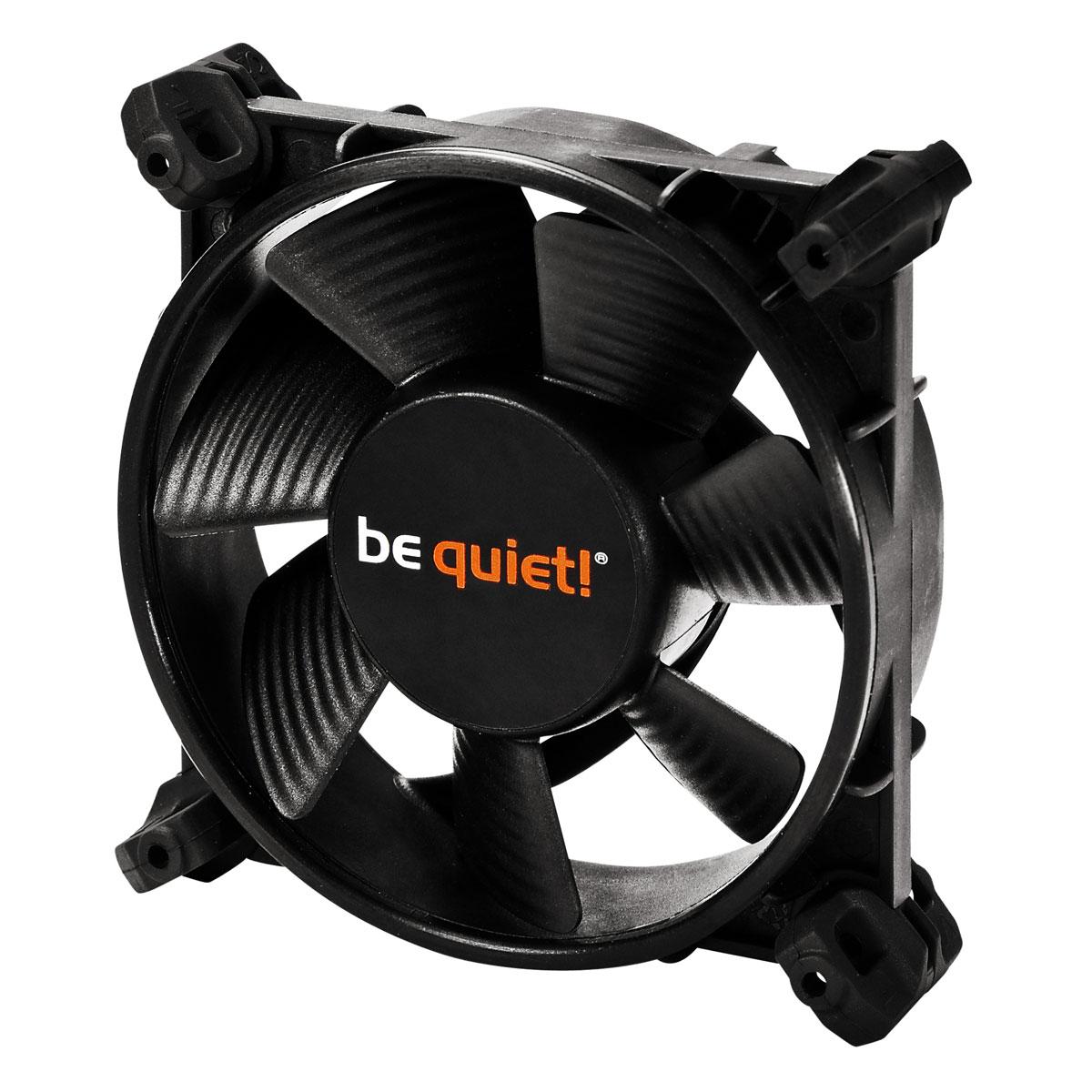 Ventilateur boîtier be quiet!  Silent Wings 2 80mm PWM Ventilateur de boîtier 80 mm (Garantie 3 ans constructeur)