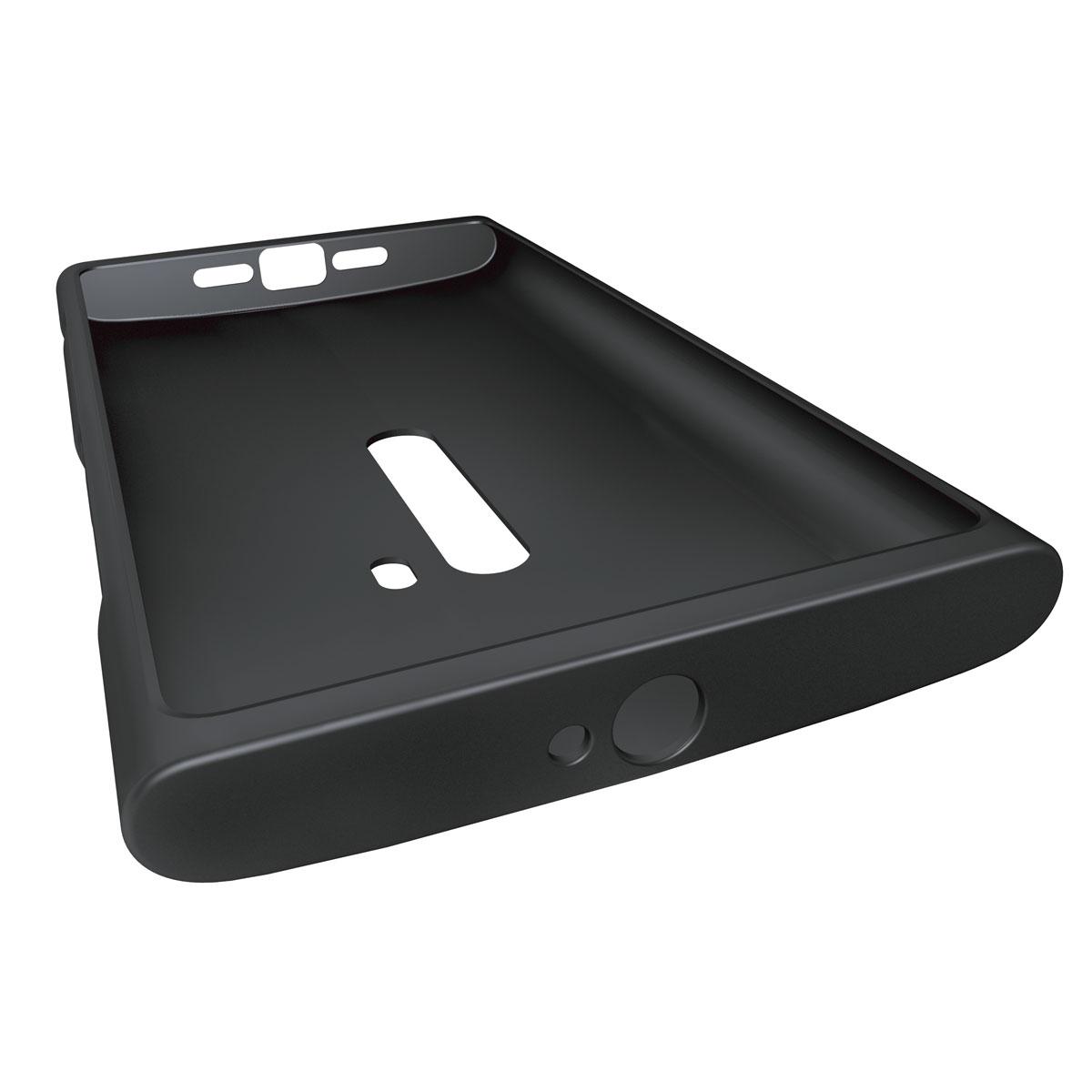 Etui téléphone Nokia CoverTop CC-1043 Noir Nokia Lumia 920 Coque en silicone pour Nokia Lumia 920