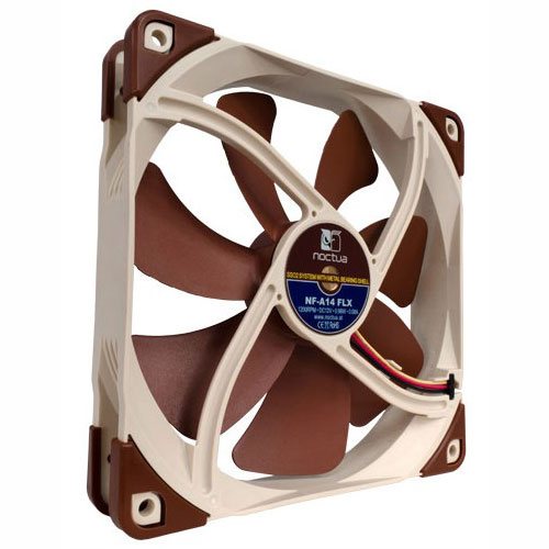Ventilateur boîtier Noctua NF-A14 FLX Ventilateur de boîtier silencieux 140mm