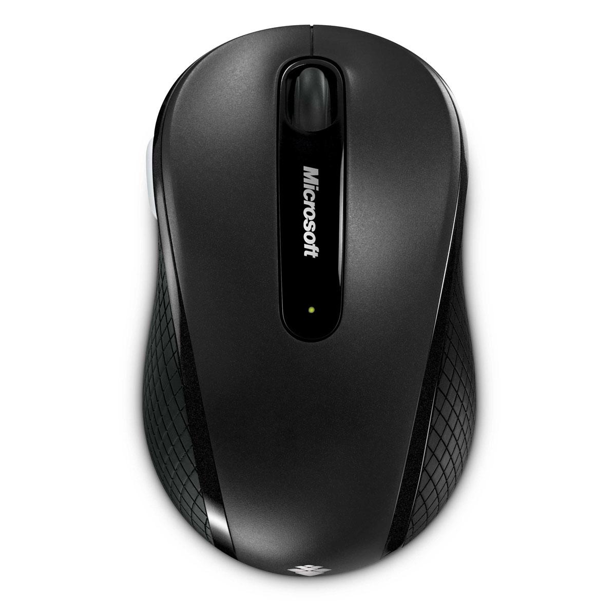 Souris PC Microsoft Wireless Mobile Mouse 4000 Souris sans fil - ambidextre - capteur laser - 4 boutons