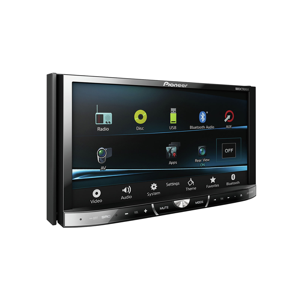 pioneer avh x5500bt autoradio pioneer sur. Black Bedroom Furniture Sets. Home Design Ideas