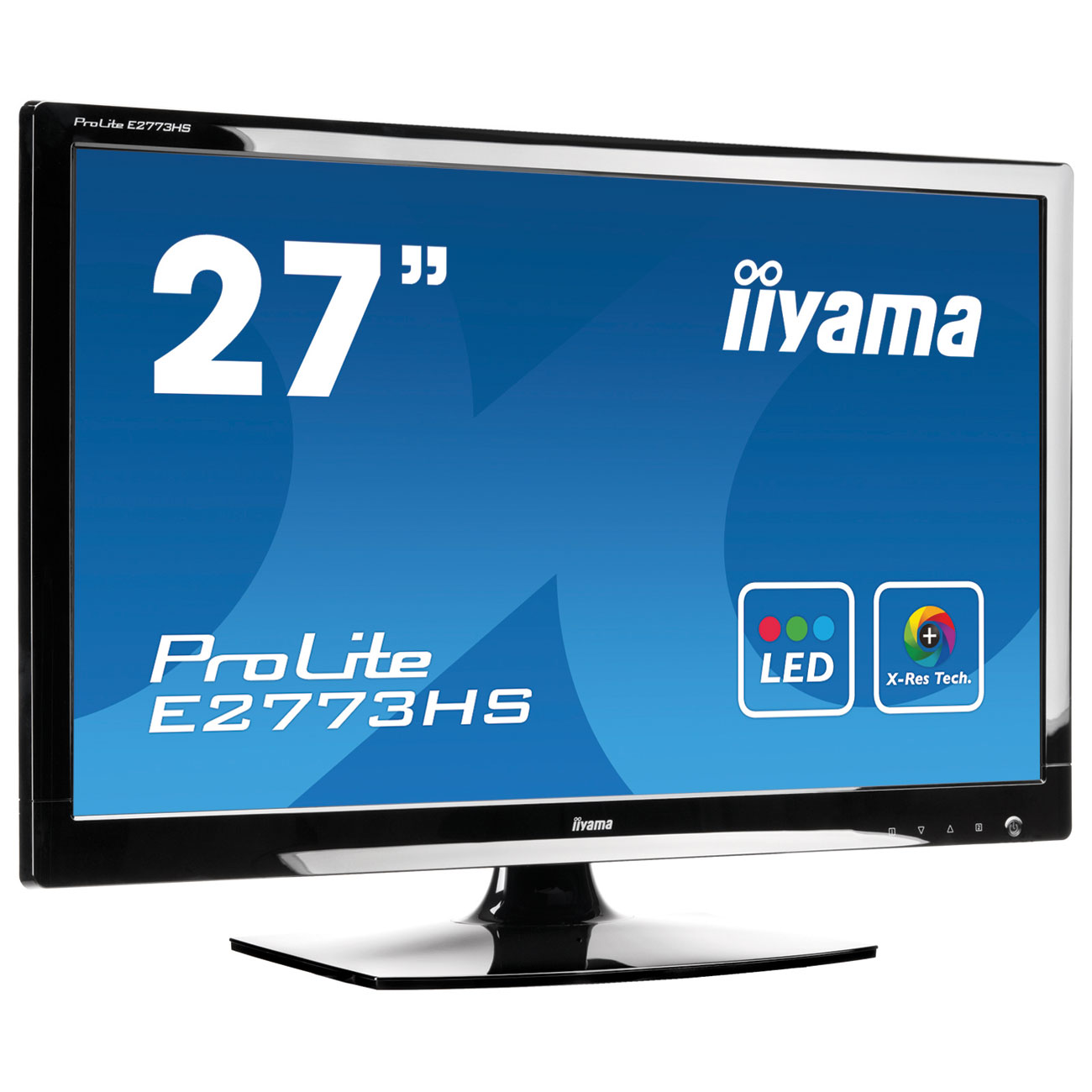 iiyama 27 led prolite e2773hs ecran pc iiyama sur. Black Bedroom Furniture Sets. Home Design Ideas