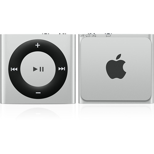Apple ipod shuffle 2 go argent lecteur mp3 ipod apple for Housse ipod shuffle