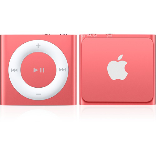 Apple ipod shuffle 2 go rose lecteur mp3 ipod apple for Housse ipod shuffle