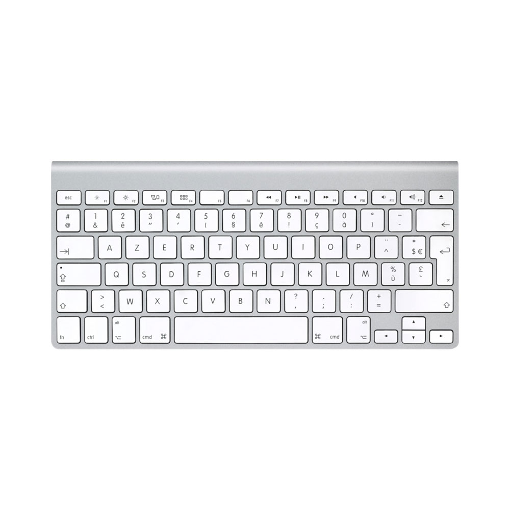 apple wireless keyboard mc184f b clavier pc apple sur. Black Bedroom Furniture Sets. Home Design Ideas