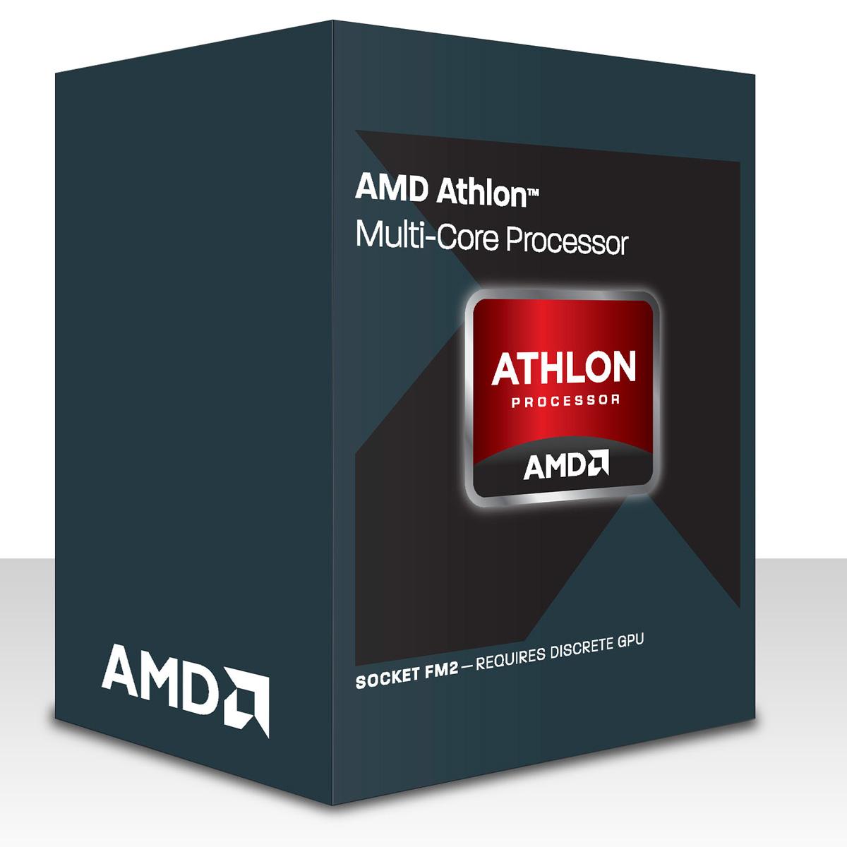 Processeur AMD Athlon X2 370K (4.0 GHz) Black Edition Processeur Dual Core Socket FM2 0.032 micron Cache L2 1 Mo (version boîte - garantie constructeur 3 ans)