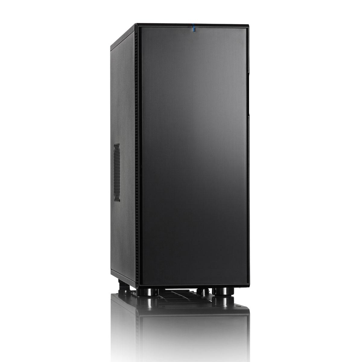 Boîtier PC Fractal Design Define XL R2 Black Pearl Boîtier Grand Tour Noir/Noir