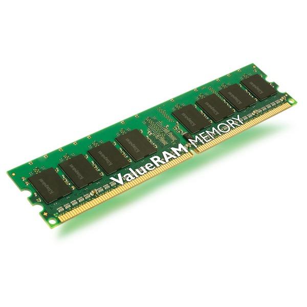 Mémoire PC Kingston ValueRAM 2 Go DDR2 667 MHz Kingston ValueRAM 2 Go DDR2-SDRAM PC5300 CL5 - KVR667D2N5/2G (garantie 10 ans par Kingston)