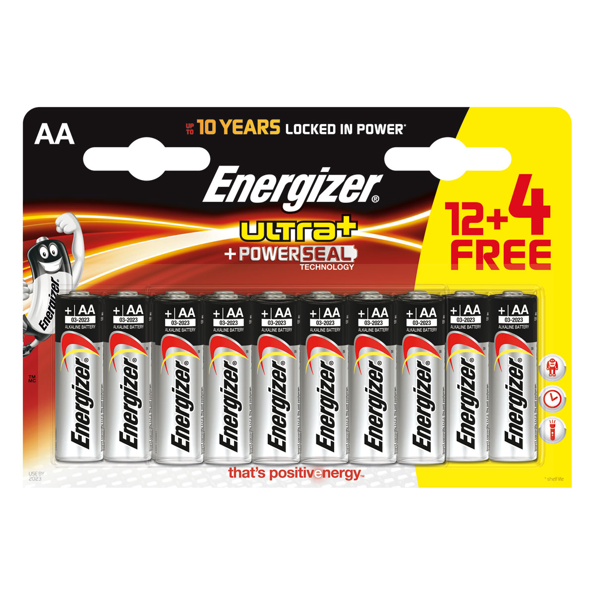 energizer ultra powerseal 12 piles 4 gratuites aa lr6 pile chargeur energizer sur. Black Bedroom Furniture Sets. Home Design Ideas