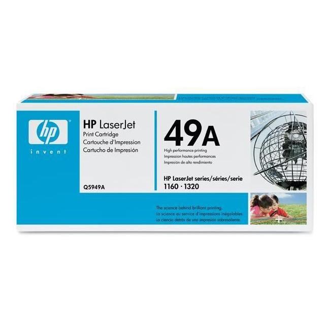Toner imprimante HP Q5949A Toner Noir (2 500 pages à 5%)