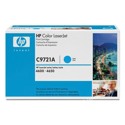 Toner imprimante HP C9721A Toner Cyan (8 000 pages à 5%)