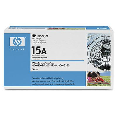 Toner imprimante HP C7115A Toner Noir UltraPrécis (2 500 pages à 5%)