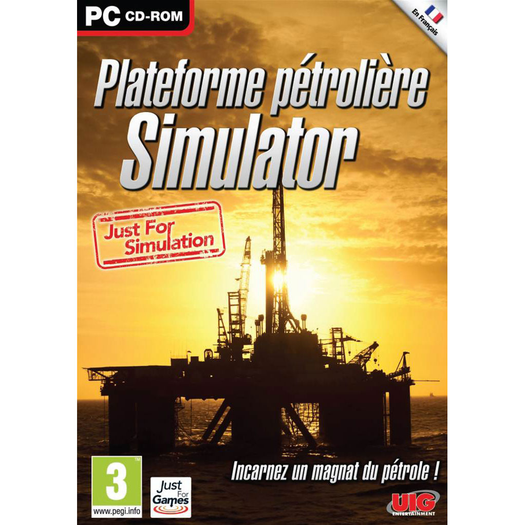 plateforme p troli re simulator pc jeux pc just for games sur. Black Bedroom Furniture Sets. Home Design Ideas