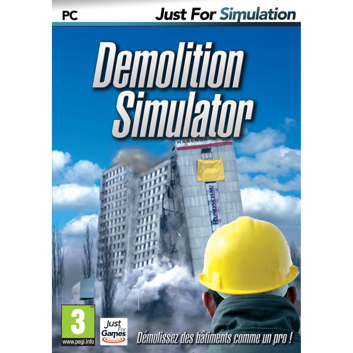 demolition simulator pc jeux pc just for games sur. Black Bedroom Furniture Sets. Home Design Ideas