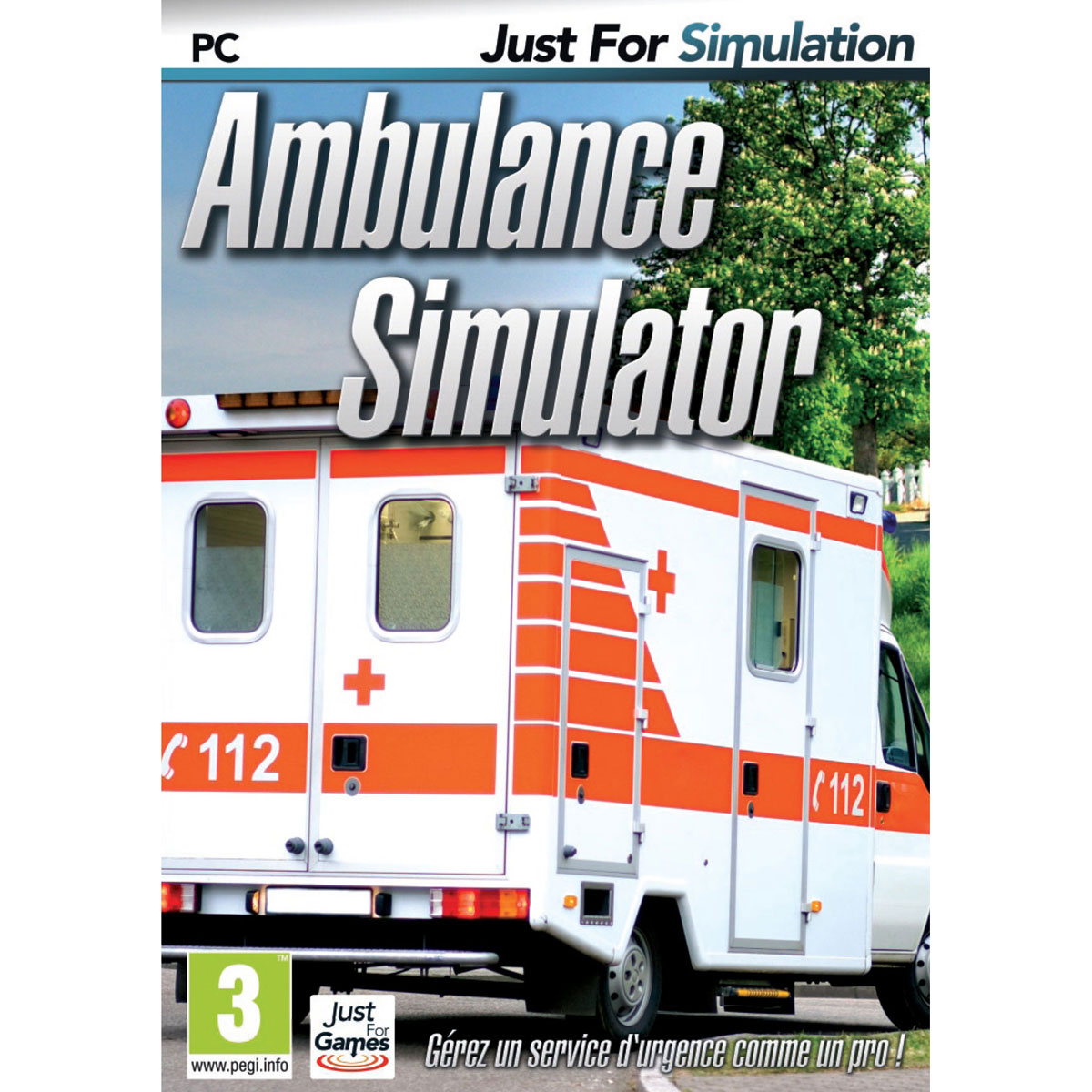 ambulance simulator pc jeux pc just for games sur. Black Bedroom Furniture Sets. Home Design Ideas