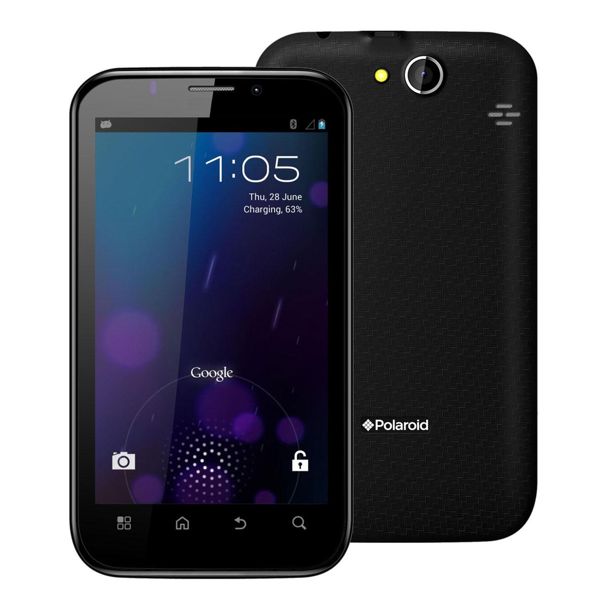 """Mobile & smartphone Polaroid PROG95D Smartphone 3G+ Dual Sim avec écran tactile 5.3"""" sous Android 4.0"""