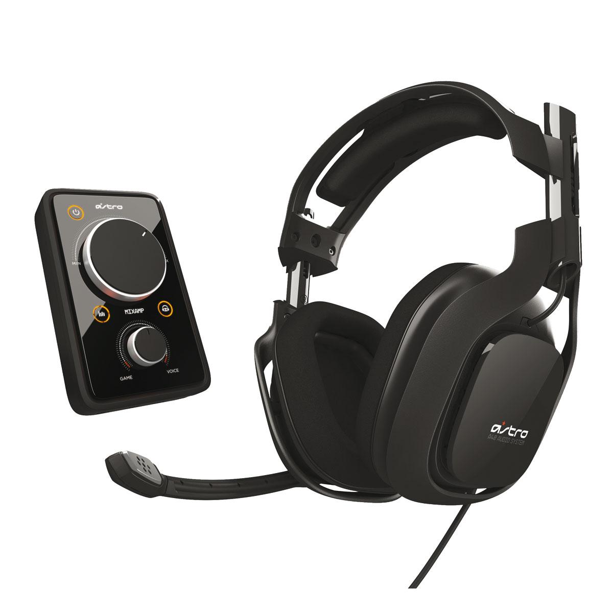 astro a40 noir ps4 ps3 xbox 360 pc accessoires xbox. Black Bedroom Furniture Sets. Home Design Ideas