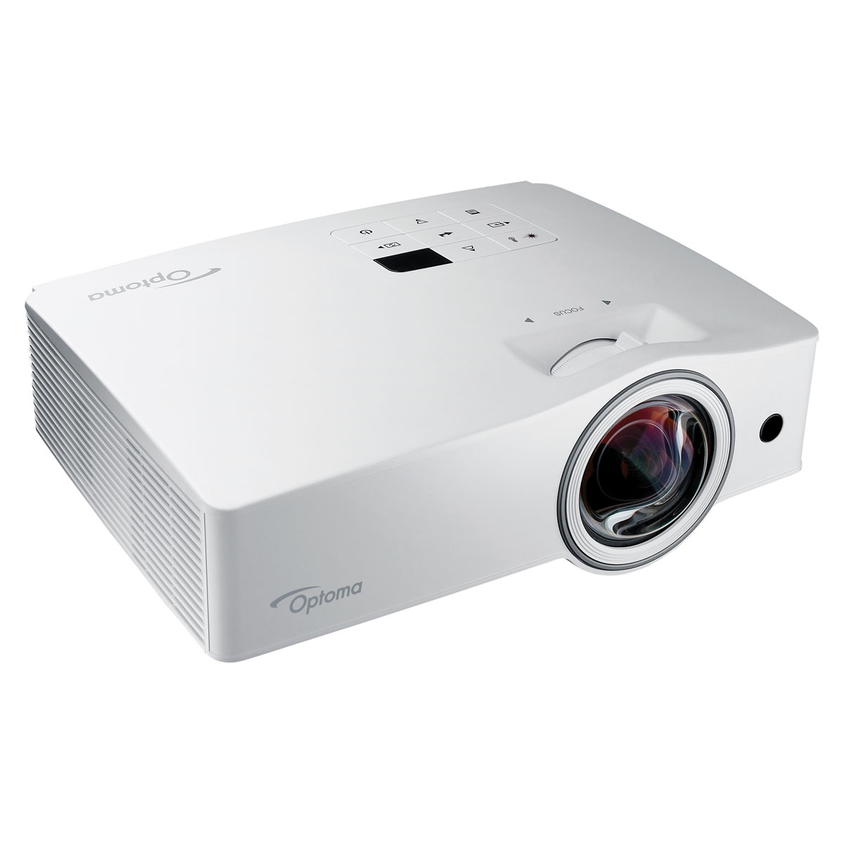 Optoma zw212st vid oprojecteur optoma sur - Support plafond videoprojecteur optoma ...