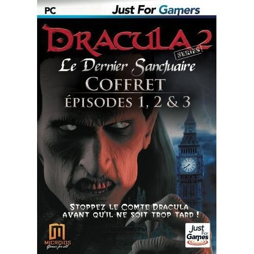 dracula 2 le dernier sanctuaire episodes 1 2 3 pc jeux pc just for games sur. Black Bedroom Furniture Sets. Home Design Ideas