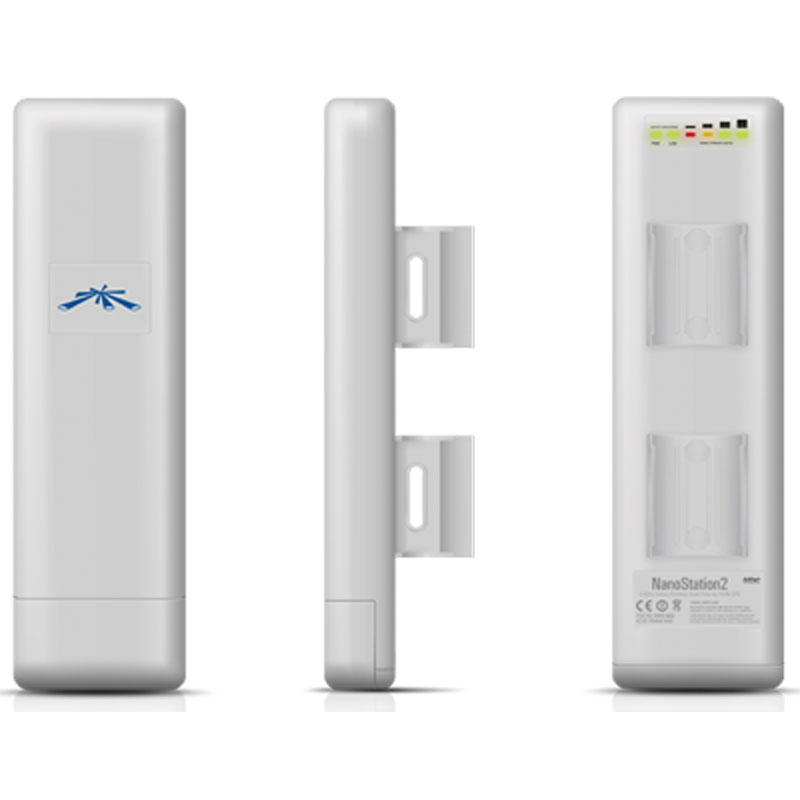 Ubiquiti airmax nanostation m2 point d 39 acc s wifi for Antenne wifi exterieur