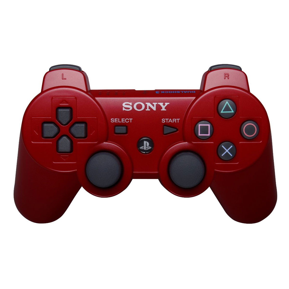 sony dualshock 3 deep red accessoires ps3 sony. Black Bedroom Furniture Sets. Home Design Ideas