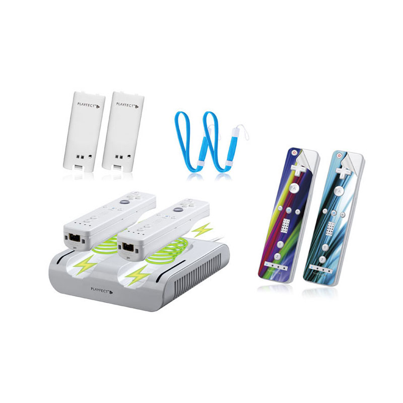 Playfect Supreme Induction Charger Blanc Wii Wii U