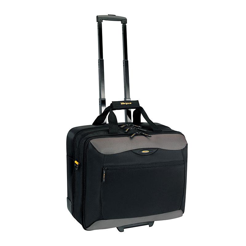 targus city gear rolling laptop case sac sacoche housse targus sur. Black Bedroom Furniture Sets. Home Design Ideas