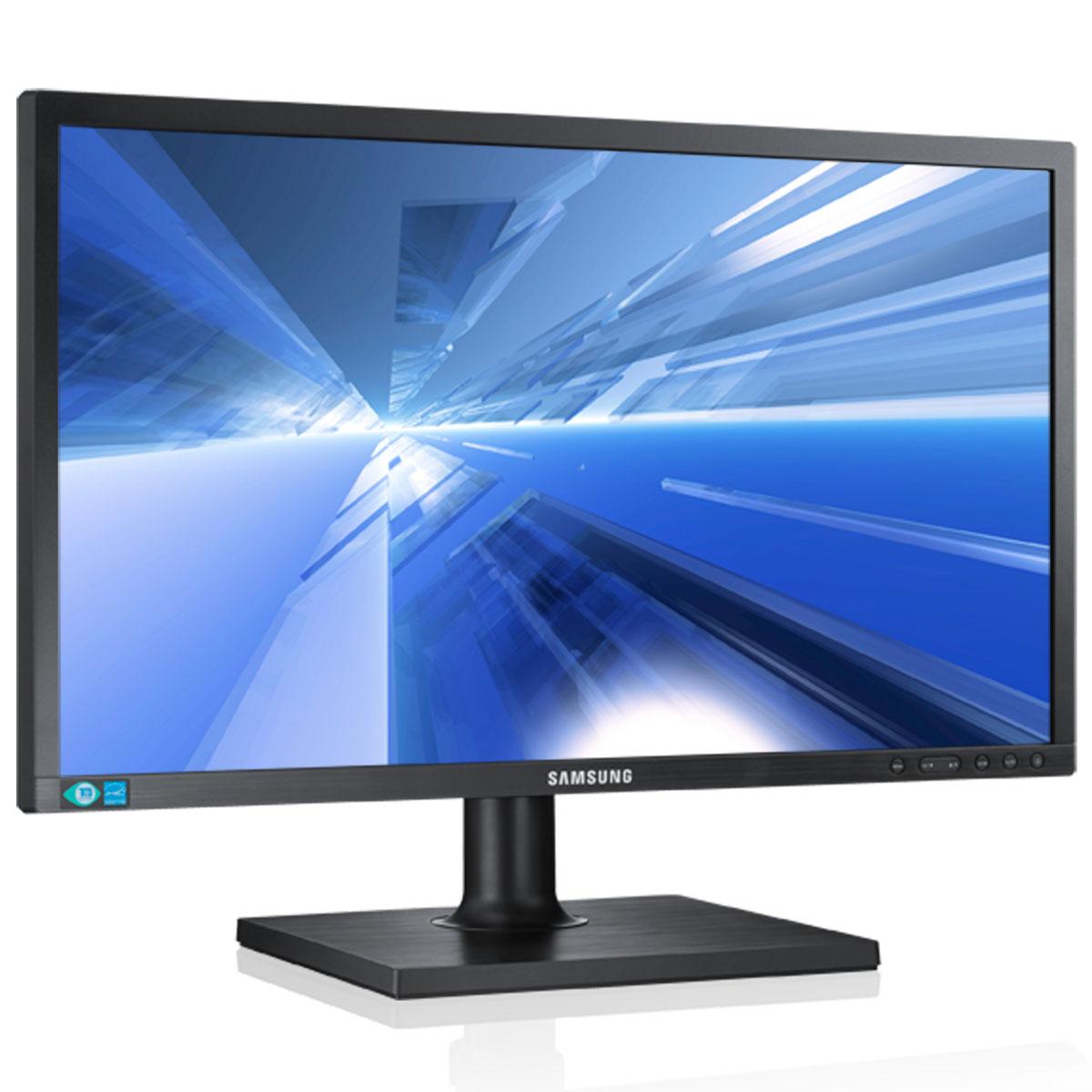 """Ecran PC Samsung 21.5"""" LED - SyncMaster S22C450B 1920 x 1080 pixels - 5 ms - Format large 16/9 - Pivot - Noir (garantie constructeur 3 ans)"""