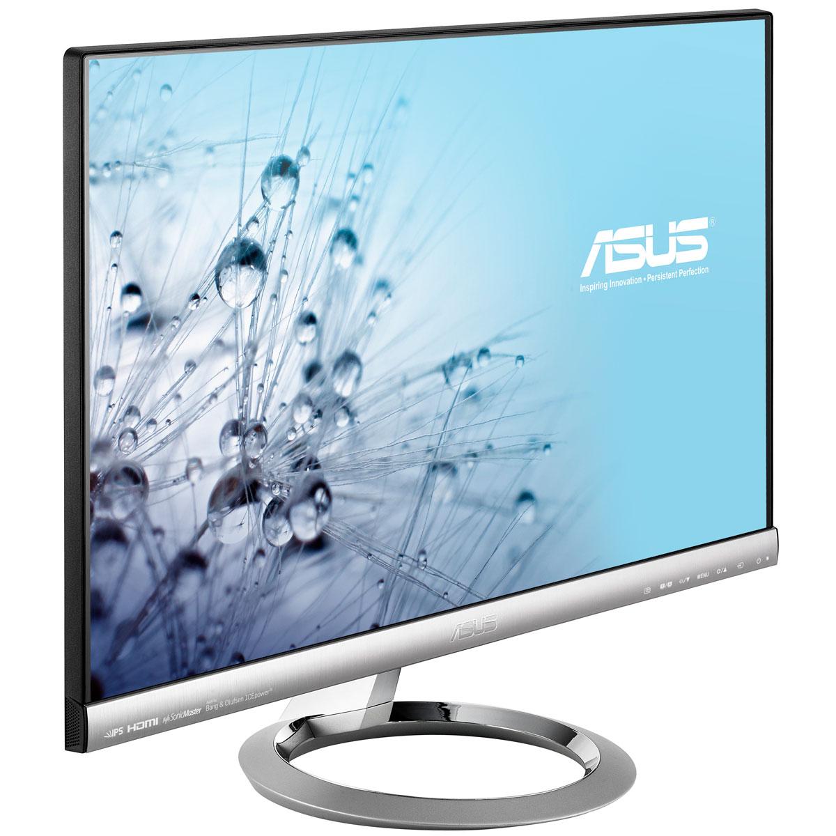 """Ecran PC ASUS 23"""" LED - Designo MX239H 1920 x 1080 pixels - 5 ms (gris à gris) - Format large 16/9 - Dalle IPS - HDMI - Noir (garantie constructeur 3 ans)"""