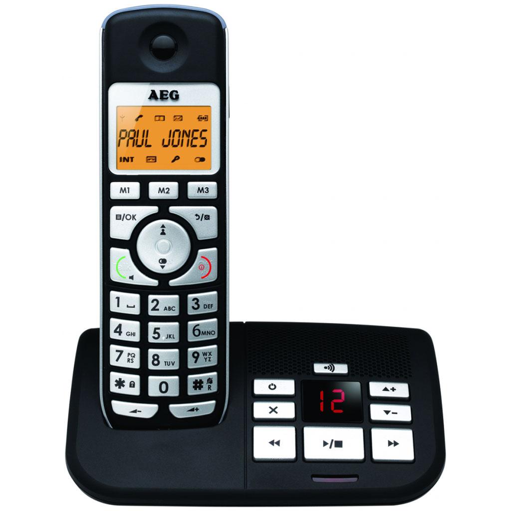 Téléphone sans fil AEG Voxtel S105 Téléphone DECT sans fil avec répondeur (version française)