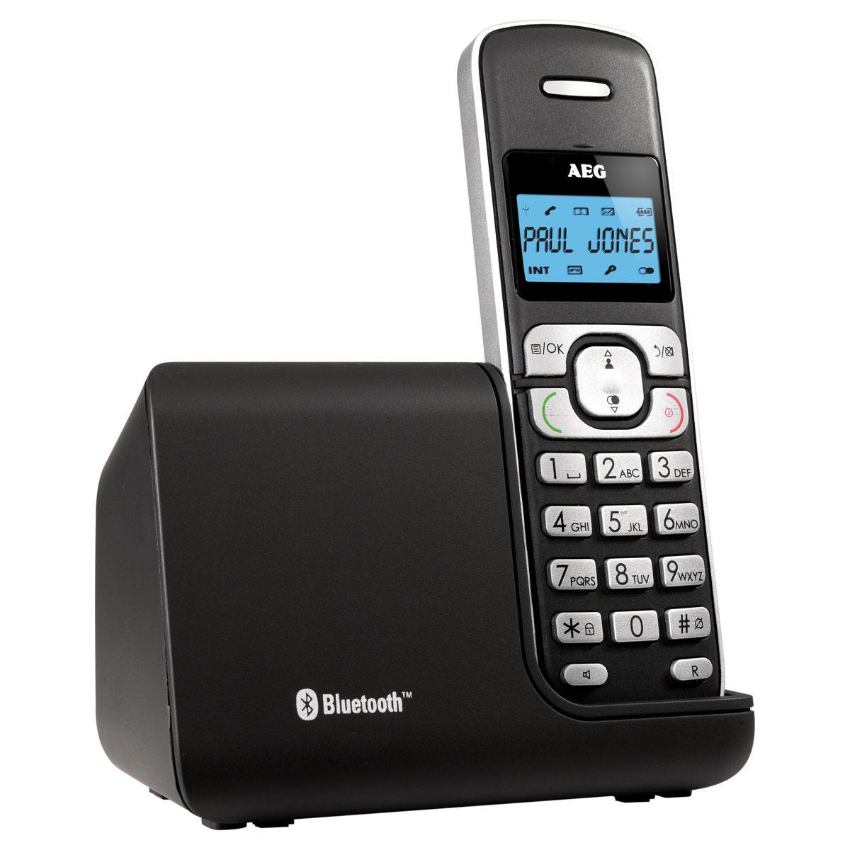 Téléphone sans fil AEG Voxtel D220BT Téléphone DECT sans fil (version française)