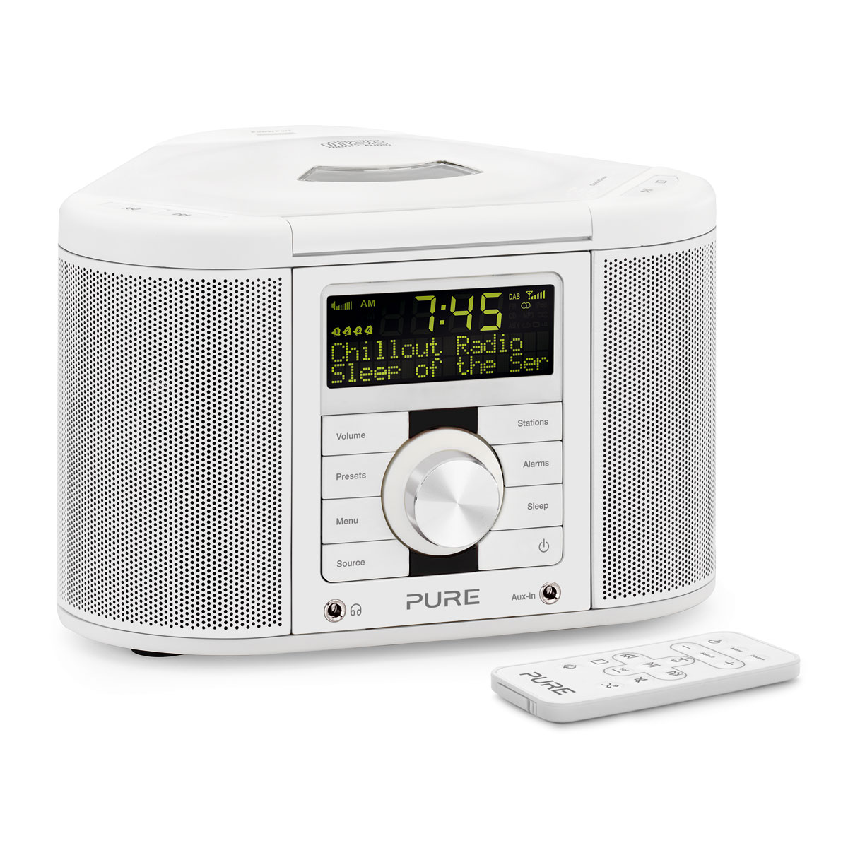 pure chronos cd series ii blanc radio radio r veil pure sur. Black Bedroom Furniture Sets. Home Design Ideas