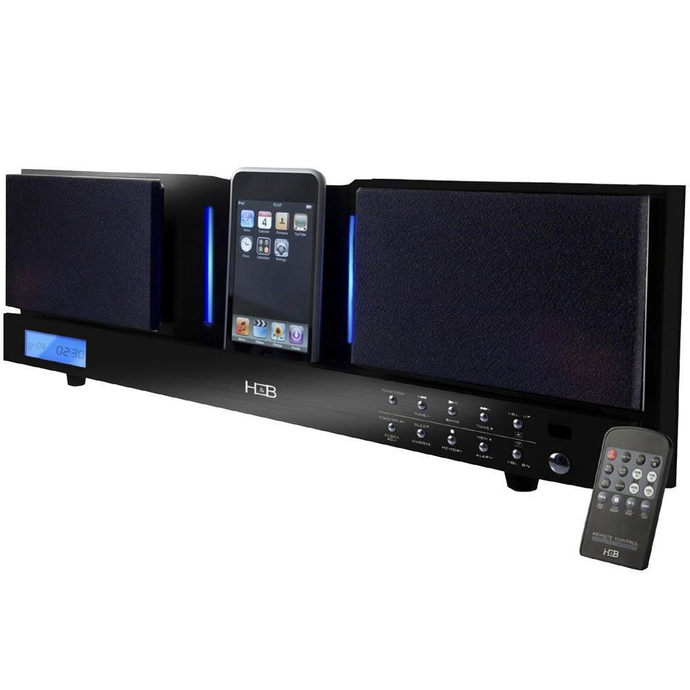 h b ip 55i noir dock enceinte bluetooth h b sur. Black Bedroom Furniture Sets. Home Design Ideas