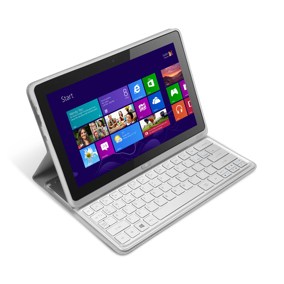 acer iconia tab w700p tablette tactile acer sur. Black Bedroom Furniture Sets. Home Design Ideas