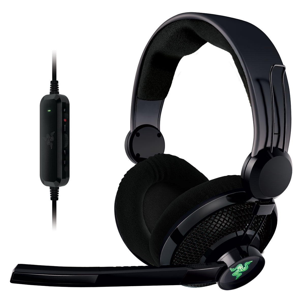 razer carcharias pc xbox 360 micro casque razer sur. Black Bedroom Furniture Sets. Home Design Ideas